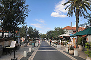 Zikhron Ya'akov, Israel, the old original street of the settlement