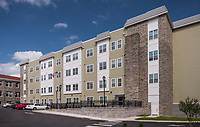 Exeterior photo of the Alician Apartments in Philadelphia Pennsylvania by Jeffrey Sauers of Commercial Photographics, Architectural Photo Artistry in Washington DC, Virginia to Florida and PA to New England