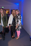 RACHEL ZOE; CHAR PILCHER, , The Vogue Festival 2012 in association with Vertu- cocktail party. Royal Geographical Society. Kensington Gore. London. SW7. 20 April 2012.