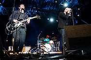 The National perform during the San Diego Street Scene festival in downtown San Diego on September 20, 2008.