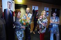Nederland. Rotterdam, 24 augustus 2012.<br /> De PVV aftrap voor de campagne voor de landelijke verkiezingen voor de TweedeKamer. Zaal in Ahoy'. Geert Wilders, Partij voor de Vrijheid, politiek, democratie, populisme, aanhang, kiezers, stemmers, Henk en Ingrid<br /> Foto:Martijn Beekman