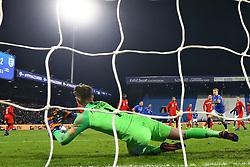 DEAN HENDERSON (ENGLAND)     <br /> Football friendly match Italy vs England u21<br /> Ferrara Italy November 15, 2018<br /> Photo by Filippo Rubin