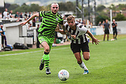 Forest Green Rovers Carl Winchester(7) drives forward during the Pre-Season Friendly match between Bath City and Forest Green Rovers at Twerton Park, Bath, United Kingdom on 27 July 2019.