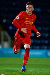 HIGH WYCOMBE, ENGLAND - Monday, March 6, 2017: Liverpool's captain Harry Wilson in action against Reading during FA Premier League 2 Division 1 Under-23 match at Adams Park Stadium. (Pic by David Rawcliffe/Propaganda)