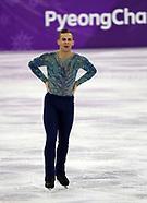 Men - Figure Skating - 17 February 2018