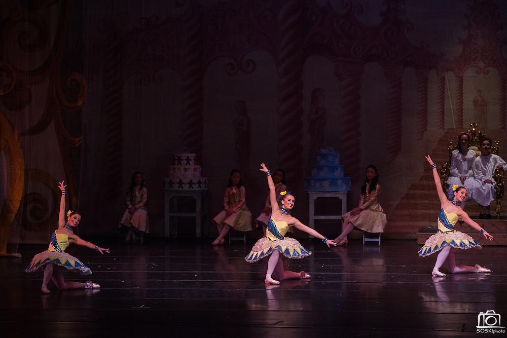 Bay Pointe Ballet performs The Nutcracker at the San Mateo Performing Arts Center in San Mateo, California, on December 14, 2014. (Stan Olszewski/SOSKIphoto)