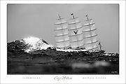 "TO BUY: Click Add to Cart above. ""Superyacht - Maltese Falcon"" picture by Cory Silken. Available 24""x36"" or 17""x25"" NOTE: The copyright watermark only appears online and is NOT printed."