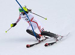19.02.2011, Gudiberg, Garmisch Partenkirchen, GER, FIS Alpin Ski WM 2011, GAP, Damen, Slalom, im Bild Sandrine Aubert (FRA) // Sandrine Aubert (FRA) during Ladie's Slalom Fis Alpine Ski World Championships in Garmisch Partenkirchen, Germany on 19/2/2011. EXPA Pictures © 2011, PhotoCredit: EXPA/ M. Gunn