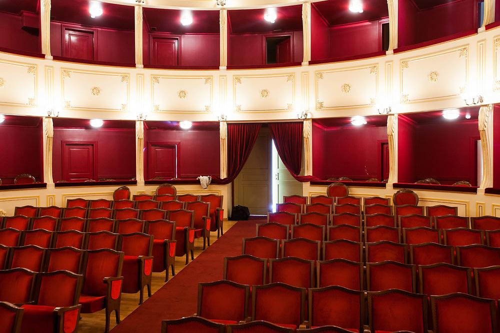 Apollon Theater, Hermoupolis, Syros, Cyclades, Greece