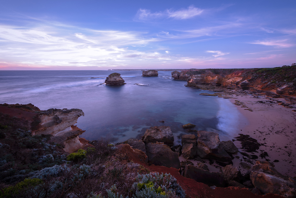 Bay of Martyrs on Great Ocean Road, Victoria, Australia