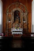 Pirenopolis_GO, Brasil.<br /> <br /> Altar da Igreja Matriz Nossa Senhora do Rosario na cidade historica de Pirenopolis, Goias.<br /> <br /> The altar of the Nossa Senhora do Rosario Church in Pirenopolis, Goias.<br /> <br /> Foto: MARCUS DESIMONI / NITRO