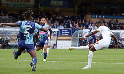 Mohamed Eisa of Peterborough United scores the opening goal of the game - Mandatory by-line: Joe Dent/JMP - 05/10/2019 - FOOTBALL - Adam's Park - High Wycombe, England - Wycombe Wanderers v Peterborough United - Sky Bet League One