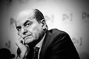 2013/04/02 Roma, conferenza stampa del leader del PD. Nella foto Pier Lugi Bersani.<br /> Rome, PD (Partito Democratico) leader press conference. In the picture Pier Lugi Bersani  - &copy; PIERPAOLO SCAVUZZO