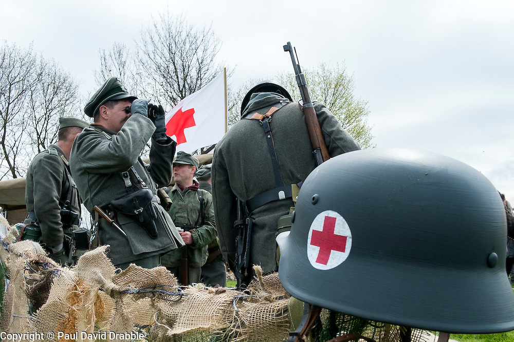 IR 276 field Hospital Display <br /> 24 April 2016<br />  Copyright Paul David Drabble<br />  www.pauldaviddrabble.co.uk