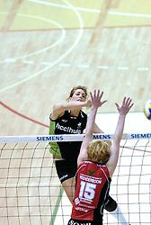 05-03-2006 VOLLEYBAL: FINAL 4 DAMES:  HCC MARTINUS - PLANTINA LONGA: ROTTERDAM<br /> In een mooie finale was Martinus in 4 sets te sterk voor Longa / Floortje Meijners<br /> Copyrights2006-WWW.FOTOHOOGENDOORN.NL