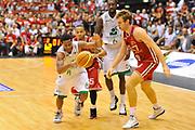 DESCRIZIONE : Campionato 2013/14 Finale GARA 7 Olimpia EA7 Emporio Armani Milano - Montepaschi Mens Sana Siena Scudetto<br /> GIOCATORE : Marquez Haynes<br /> CATEGORIA : Palleggio Contropiede<br /> SQUADRA : Montepaschi Siena<br /> EVENTO : LegaBasket Serie A Beko Playoff 2013/2014<br /> GARA : Olimpia EA7 Emporio Armani Milano - Montepaschi Mens Sana Siena<br /> DATA : 27/06/2014<br /> SPORT : Pallacanestro <br /> AUTORE : Agenzia Ciamillo-Castoria / Luigi Canu<br /> Galleria : LegaBasket Serie A Beko Playoff 2013/2014<br /> Fotonotizia : DESCRIZIONE : Campionato 2013/14 Finale GARA 7 Olimpia EA7 Emporio Armani Milano - Montepaschi Mens Sana Siena<br /> Predefinita :