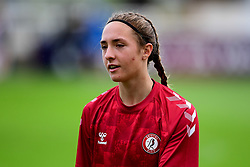 Naomi Layzell of Bristol City Women prior to kick off - Mandatory by-line: Ryan Hiscott/JMP - 06/09/2020 - FOOTBALL - Twerton Park - Bath, England - Bristol City Women v Everton Ladies - FA Women's Super League