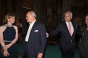 FRANCES OSBORNE; NICHOLAS COLERIDGE; MARTIN ROTH, V & A Summer party. South Kensington. London. 22 June 2016