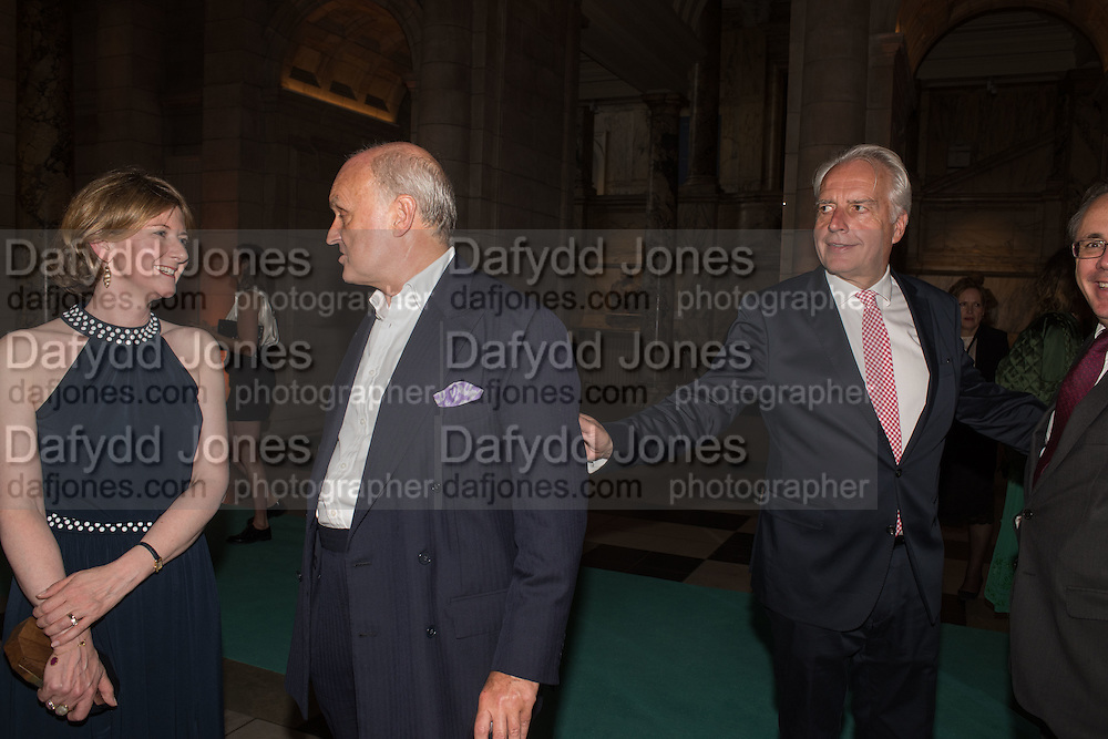 FRANCES OSBORNE; NICHOLAS COLERIDGE; MARTIN ROTH, V & A Summer party. South Kensington. London. 22 June 2016