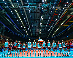 30-05-2019 NED: Volleyball Nations League Netherlands - Poland, Apeldoorn<br /> Team Poland