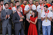 091619 Spanish Royals attends Audience for the national basketball team of the FIBA World Cup 2019
