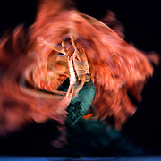 01.03.2015 Flamenco Festival London 2015 Compania Manuel Linan's Nomda at Sadlers Wells London UK Manuel Linan performing Caracoles
