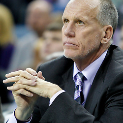 January 3, 2011; New Orleans, LA, USA; Philadelphia 76ers head coach Doug Collins watches from the bench during the fourth quarter of a game against the New Orleans Hornets at the New Orleans Arena. The Hornets defeated the 76ers 84-77.  Mandatory Credit: Derick E. Hingle