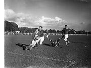 19/10/1957<br /> 10/19/1957<br /> 19 October 1957<br /> All Army Football Championship: Eastern Command v Southern Command at the Phoenix Park, Dublin.