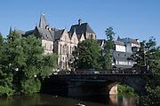 Alte Universität, Untertstadt an der Lahn, Marburg, Hessen, Deutschland | Old University, old town, river Lahn, Marburg, Hesse, Germany
