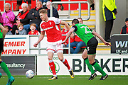 Rotherham United forward Michael Smith (24) during the EFL Sky Bet League 1 play off second leg match between Rotherham United and Scunthorpe United at the AESSEAL New York Stadium, Rotherham, England on 16 May 2018. Picture by Nigel Cole.