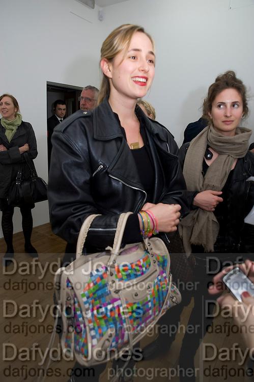 PRINCESS ELIZABETH THURN UND TAXIS; ALEXANDRA SCHIFFER. Cindy Sherman exhibition. Spruth Magers, London. Grafton st. London. Afterwards at Bellamy's, Bruton Place. 15 April 2009.<br /> PRINCESS ELIZABETH THURN UND TAXIS; ALEXANDRA SCHIFFER. Cindy Sherman exhibition. Spruth Magers, London. Grafton st. London. Afterwards at Bellamy's, Bruton Place. 15 April 2009.  *** Local Caption *** -DO NOT ARCHIVE-© Copyright Photograph by Dafydd Jones. 248 Clapham Rd. London SW9 0PZ. Tel 0207 820 0771. www.dafjones.com.