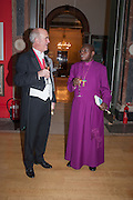 CHARLES SAUMERAZ SMITH; THE ARCHBISHOP OF YORK; DR. JOHN SENTAMU;  Royal Academy of Arts Annual dinner. Piccadilly. London. 29 May 2012.