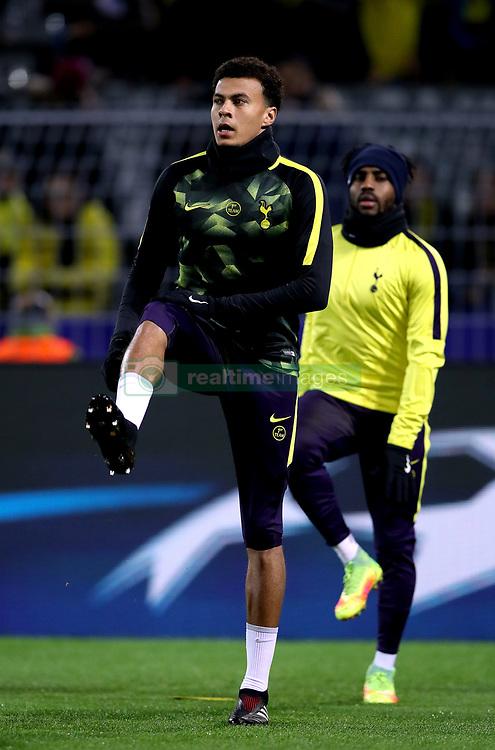 Tottenham Hotspur's Dele Alli during warm-up