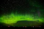 Northern lights (Aurora borealis)<br /> Indian Head<br /> Saskatchewan<br /> Canada