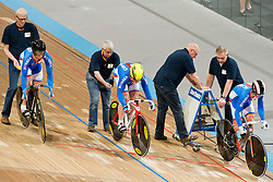 , RUS, Sprint FInals, 2015 UCI Para-Cycling Track World Championships, Apeldoorn, Netherlands