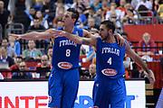 DESCRIZIONE : Berlino Berlin Eurobasket 2015 Group B Spain Italy<br /> GIOCATORE : Danilo Gallinari<br /> CATEGORIA : curiosita mani<br /> SQUADRA : Italy<br /> EVENTO : Eurobasket 2015 Group B<br /> GARA : Spain Italy<br /> DATA : 08/09/2015<br /> SPORT : Pallacanestro<br /> AUTORE : Agenzia Ciamillo&shy;Castoria/<br /> Galleria : EuroBasket 2015<br /> Fotonotizia : Berlino Berlin Eurobasket 2015 Group B Spain Italy