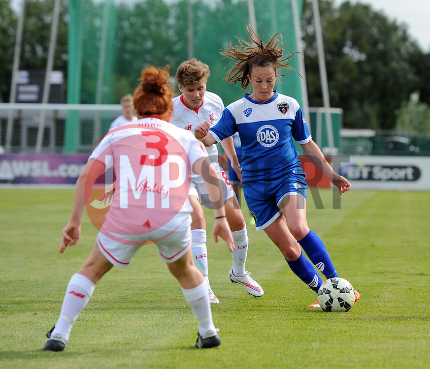 Caroline Weir of Bristol Academy Women - Mandatory by-line: Paul Knight/JMP - Mobile: 07966 386802 - 13/09/2015 -  FOOTBALL - Stoke Gifford Stadium - Bristol, England -  Bristol Academy Women v Liverpool Ladies FC - FA WSL Continental Tyres Cup