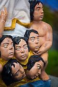 Cuiaba_MT, Brasil...Na foto Escultura proxima a Igreja do Rosario e Sao Benedito em Cuiaba, Mato Grosso...The sculpture near the Rosario and Sao Benedito church in Cuiaba in Cuiaba, Mato Grosso...Foto: JOAO MARCOS ROSA  / NITRO.