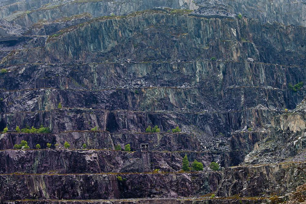 LLanberis Slate Quarry near Llanberis, Gwynedd, Wales