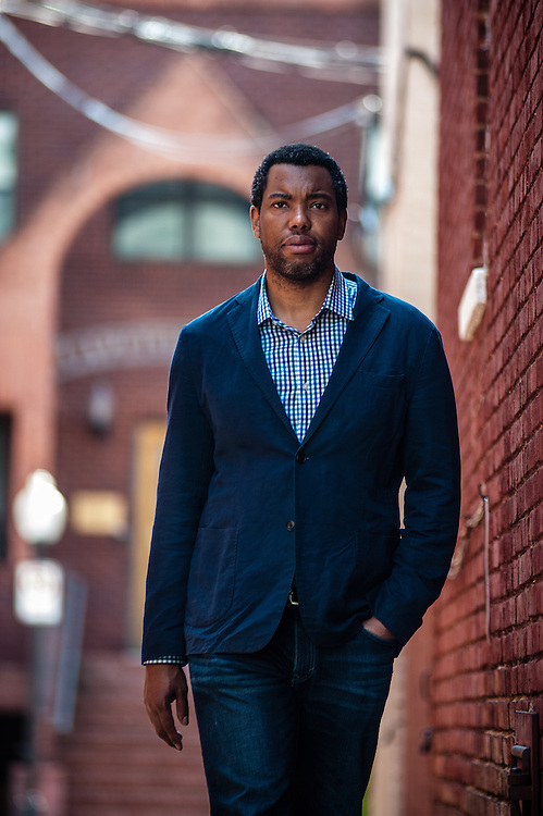 WASHINGTON, DC -- JUNE 13: Ta-Nehisi Coates, National Correspondent for The Atlantic Magazine, wrote the cover piece about reparations. by André Chung
