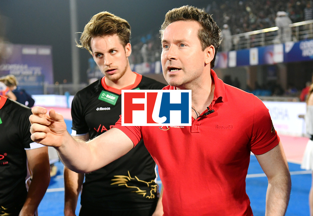 Odisha Men's Hockey World League Final Bhubaneswar 2017<br /> Match id:16<br /> Germany v Netherlands<br /> Foto: coach Stefan Kermas (Ger) <br /> COPYRIGHT WORLDSPORTPICS FRANK UIJLENBROEK