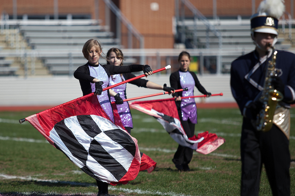 Collingswood High School's marching band performs at the South Jersey Chapter Championships held at Clearview High School on Sunday October 21, 2012. (photo / Mat Boyle)
