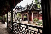 Jingyi Study in Yu Yuan Gardens Shanghai, China