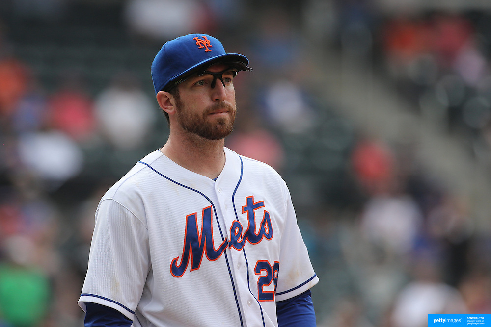 Ike Davis, New York Mets, during the New York Mets V Cincinnati Reds Baseball game at Citi Field, Queens, New York. 22nd May 2012. Photo Tim Clayton