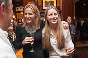 INDIA HICKS; MADDISON MAY BRUDENELL; , Book launch for ' Daughter of Empire - Life as a Mountbatten' by Lady Pamela Hicks. Ralph Lauren, 1 New Bond St. London. 12 November 2012.