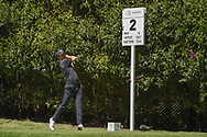 Jordan Spieth (USA) watches his tee shot on 2 during round 1 of the World Golf Championships, Mexico, Club De Golf Chapultepec, Mexico City, Mexico. 2/21/2019.<br /> Picture: Golffile | Ken Murray<br /> <br /> <br /> All photo usage must carry mandatory copyright credit (© Golffile | Ken Murray)