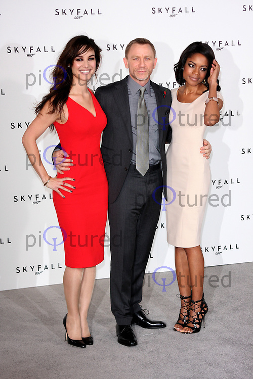 Photcall for 'Skyfall', the 23rd James Bond movie held at Massimo's Restaurant. London - November 3rd 2011....Photo by Jill Mayhew