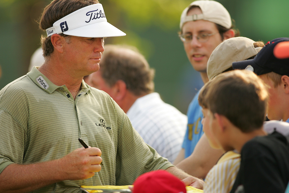 Peter Jacobsen.2005 Shell Houston Open.Second Round.Redstone GC.Humble, TX .Friday, April 22 2005..photograph by Darren Carroll..04-22-05...