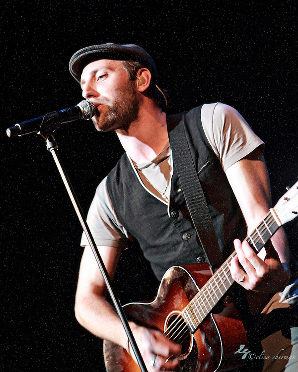 Mat Kearney opens for Owl City July 15th, 2011 at the Paramount Theatre in Seattle, Washington