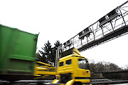 Duitsland, A73, 3-1-2005Betaalautomaat voor de tol op de Duitse autobaan, snelweg.Vanaf 1 januari is de tolheffing voor vrachtverkeer van kracht. Foto: Flip Franssen/Hollandse Hoogte